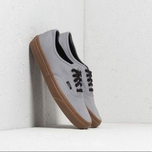 NWT Vans Authentic Sneaker Gray W 7, M 5.5